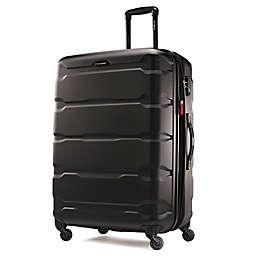 Samsonite® Omni 28-Inch Hardside Spinner Checked Luggage in Black