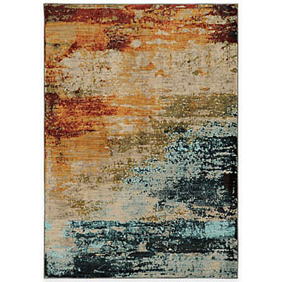Oriental Weavers Sedona Watercolor Area Rug in Multicolor