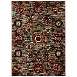 Oriental Weavers Sedona Floral Medallion Rug