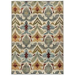Oriental Weavers Sedona Ikat Area Rug in Multicolor