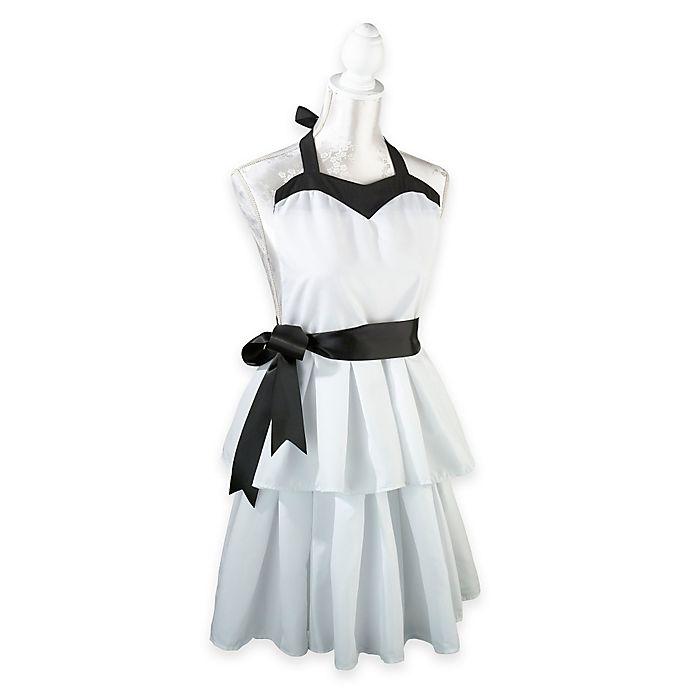 Alternate image 1 for Lillian Rose™ Women's Apron in White/Black