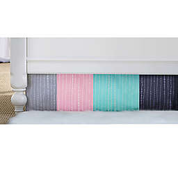 Wendy Bellissimo™ Mix & Match Dotted Stripe Crib Skirt