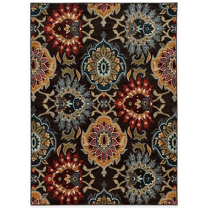 Floral Damask Area Rug: Buy Oriental Weavers Floral Damask 3-Foot 10-Inch X 5-Foot