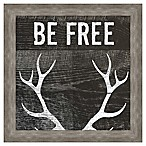 Be Free  Inspirational Framed Wall Art