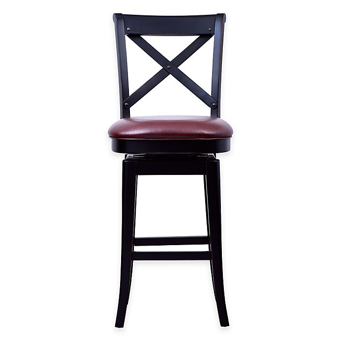 Montgomery X Back Bar Stool Bed Bath Amp Beyond