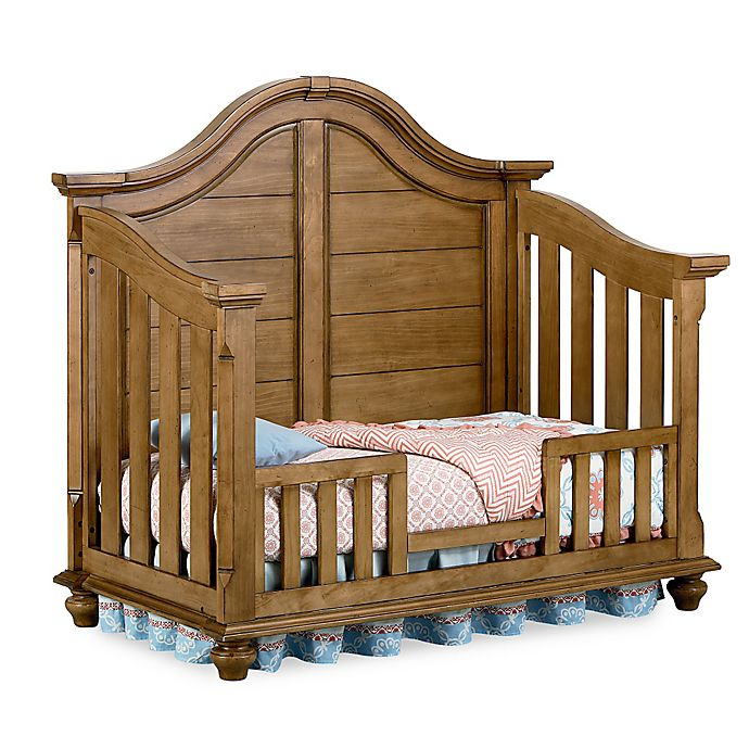 buy bassettbaby premier benbrooke toddler guard rail in vintage pine from bed bath beyond. Black Bedroom Furniture Sets. Home Design Ideas