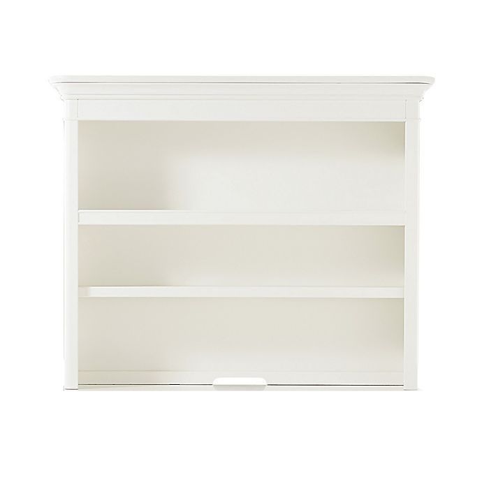Alternate image 1 for Bassettbaby® Premier Nantucket Hutch and Bookcase in Cotton White