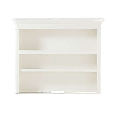 Bassettbaby® Premier Nantucket Hutch and Bookcase in Cotton White