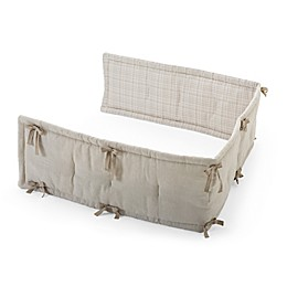 Stokke® Half Bumper in Natural/Beige Checks