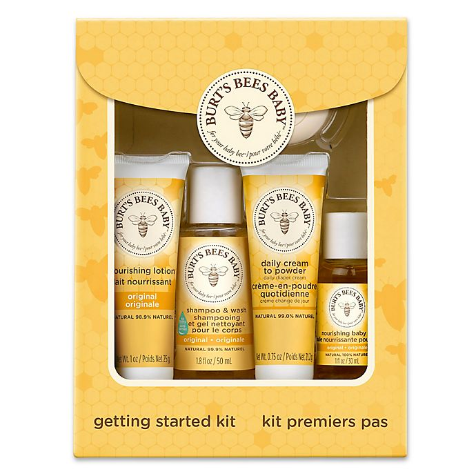 Alternate image 1 for Burt's Bees® Baby Bee® Getting Started Gift Set