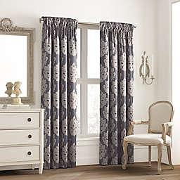 Valeron Glenview Rod Pocket with Pencil Pleat Window Curtain Panel