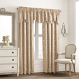 Valeron Glenview Window Curtain Valance with Pencil Pleat
