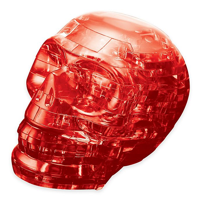 Alternate image 1 for Skull 48-Piece Original 3D Crystal Puzzle