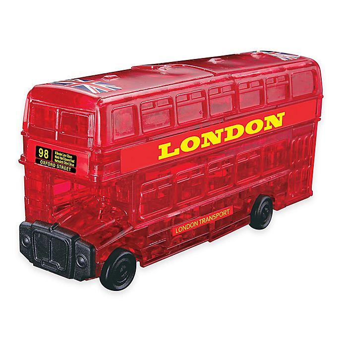 Alternate image 1 for London Bus 53-Piece Original 3D Crystal Puzzle