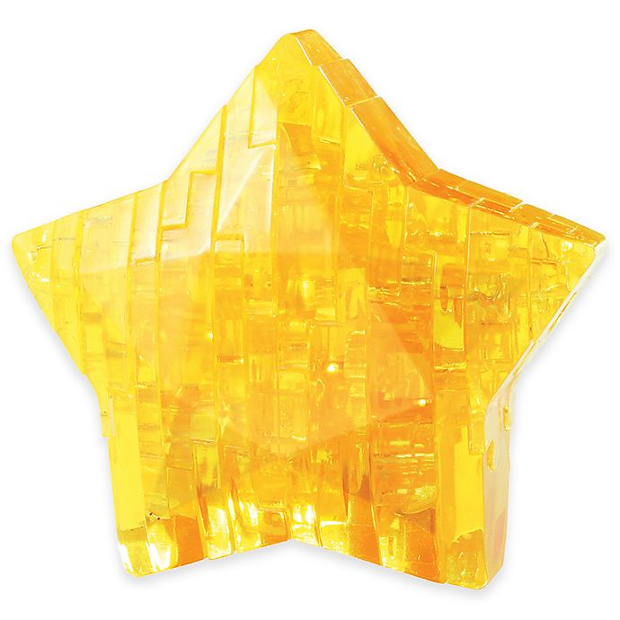 Alternate image 1 for Star 38-Piece Original 3D Crystal 38-Piece Puzzle