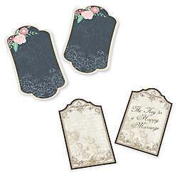 Lillian Rose™ 24-Pack Wishes Key Tags