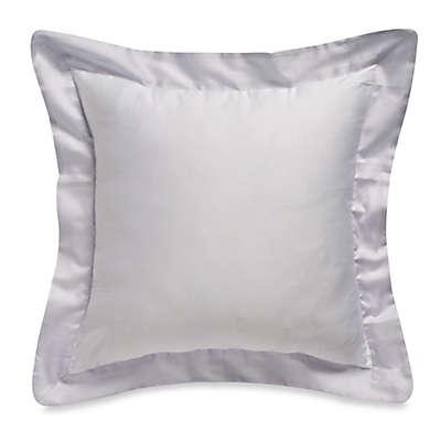 Bellora® Luxury Italian-Made Abri Square Throw Pillow in White