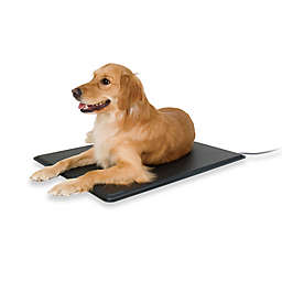 Lectro-Kennels Large Heated Pad in Black