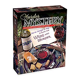 BePuzzled® 1000-Piece A Taste for Wine and Murder Mystery Party Puzzle