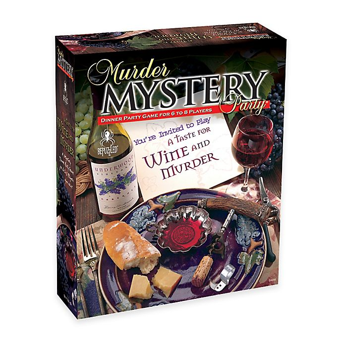 Alternate image 1 for BePuzzled® 1000-Piece A Taste for Wine and Murder Mystery Party Puzzle