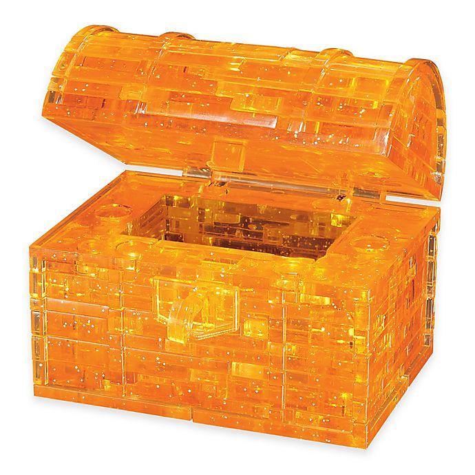 Alternate image 1 for Treasure Chest 52-Piece Original 3D Crystal Puzzle