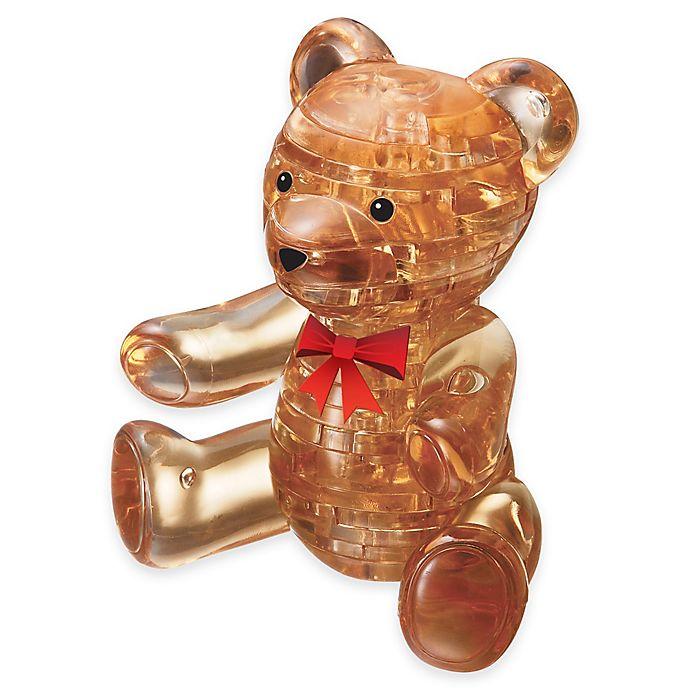 Alternate image 1 for Teddy Bear 41-Piece Original 3D Crystal Puzzle