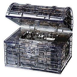 Treasure Chest 52-Piece Original Crystal Puzzle in Black
