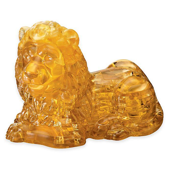 Alternate image 1 for Lion 96-Piece Original 3D Crystal Puzzle