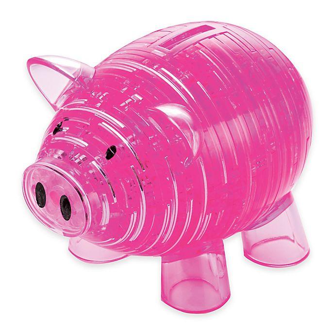 Alternate image 1 for Piggy Bank 93-Piece Original 3D Crystal Puzzle