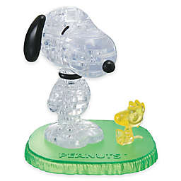 Snoopy with Woodstock 41-Piece Original 3D Crystal Puzzle