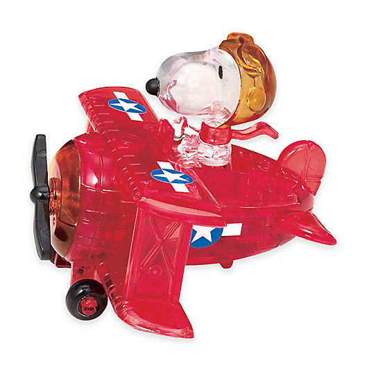 Alternate image 1 for Peanuts™ Snoopy Flying Ace 39-Piece Original 3D Crystal Puzzle