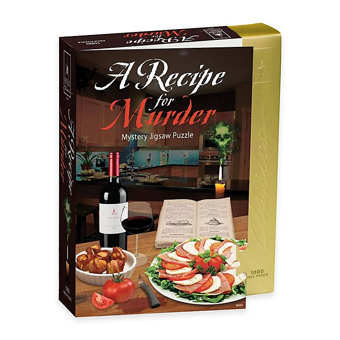 Alternate image 1 for BePuzzled® 1000-Piece Recipe for Murder- Murder Mystery Jigsaw Puzzle