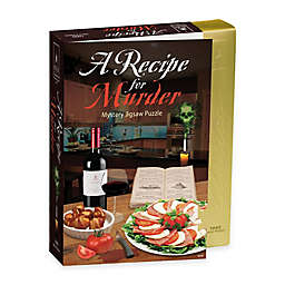 BePuzzled® 1000-Piece Recipe for Murder- Murder Mystery Jigsaw Puzzle