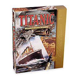 BePuzzled® 1000-Piece Murder on the Titanic Mystery Jigsaw Puzzle