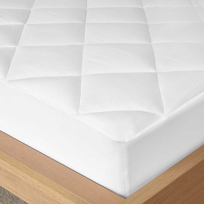 Alternate image 1 for Madison Park Quiet Nights Waterproof Cotton Mattress Pad