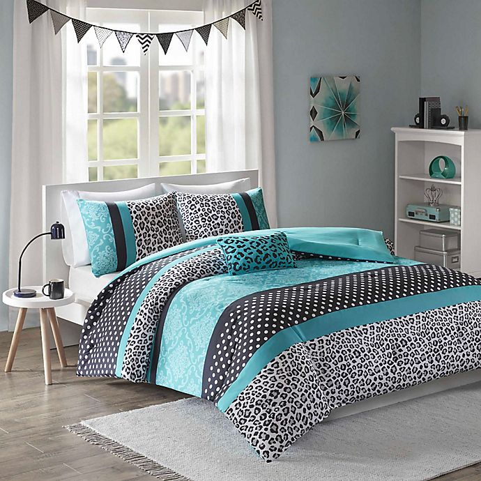Alternate image 1 for Mi Zone Chloe Full/Queen Comforter Set in Teal