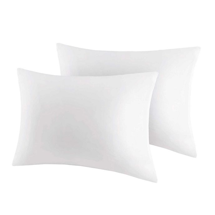 Alternate image 1 for Bed Guardian by Sleep Philosophy 3M Scotchgard Pillow Protector (Set of 2)