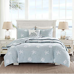 Harbor House® Seaside 4-Piece Coverlet Set in Blue