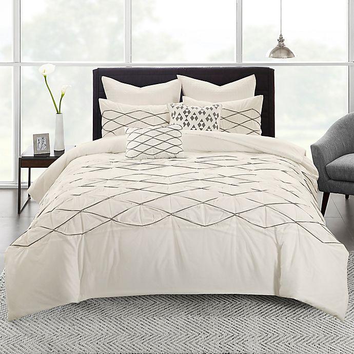 Alternate image 1 for Urban Habitat Sunita 5-Piece Twin/Twin XL Comforter Set in White