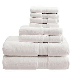 Madison Park Signature 800GSM 100% Cotton 8-Piece Towel Set in Cream
