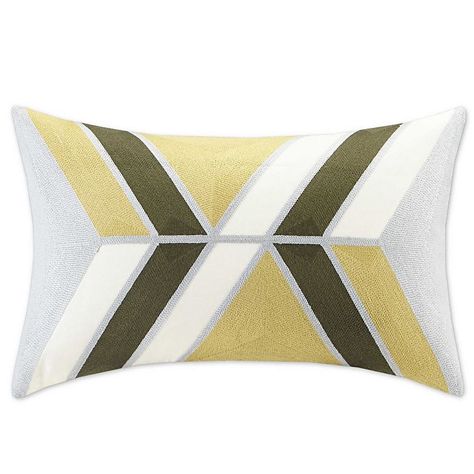 Alternate image 1 for INK+IVY Aero Oblong Throw Pillow