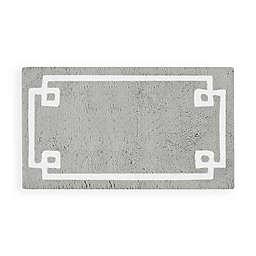 Madison Park Evan 24-Inch x 40-Inch Bath Rug in Grey