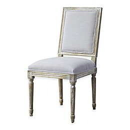 Baxton Studio Clairette Traditional French Accent Chair in Beige