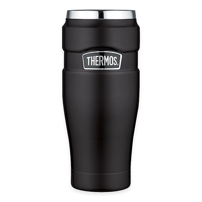 Alternate image 1 for Thermos® Stainless Steel King™ 16 oz. Vacuum Insulated Travel Tumbler