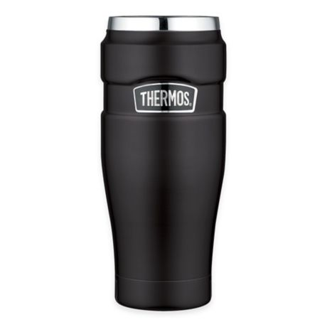 Insulated Tumbler King™ Stainless Steel OzVacuum Thermos® Travel 16 J3ul15cTKF