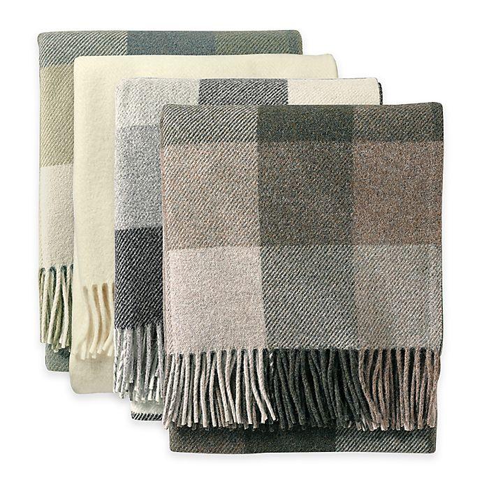 Pendleton® Eco-Wise Wool Fringed Throw Blanket  5475500a4