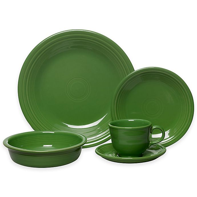 Alternate image 1 for Fiesta® 5-Piece Place Setting in Shamrock
