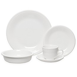 Fiesta® 5-Piece Place Setting in White