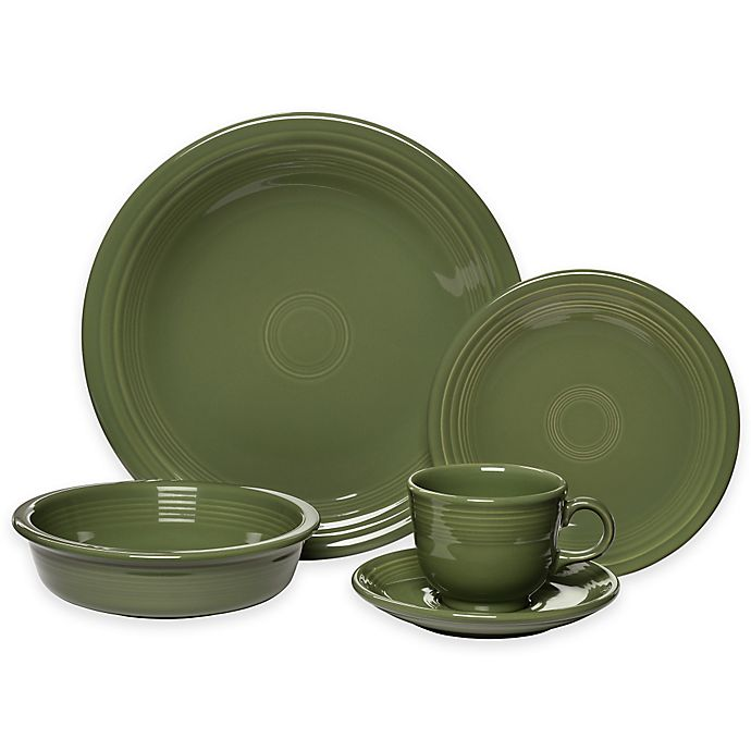 Alternate image 1 for Fiesta® 5-Piece Place Setting in Sage