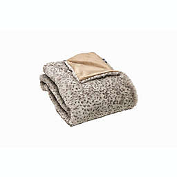 Luxe Limited Collection Lynx Faux Fur Throw